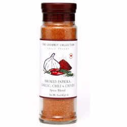 The Gourmet Collection  | Smoked Paprika Garlic & Chill & Chives Spice Blend image here