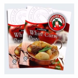 Chillies Brand | White Curry Paste image here