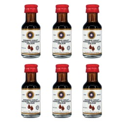 Star Brand | Chocolate Flavour  (6 Bottles) image here