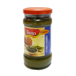 Incredible India, Green Chili Chutney ( Swad ), Green, SW009 image here