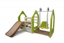 PLAY YARD WITH SWING  image here