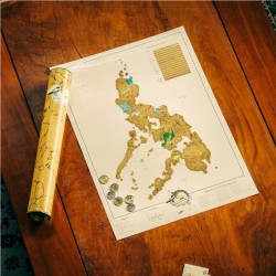 SCRATCH MAP PHILIPPINES EDITION image here