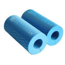 FA SILICONE GRIP (PAIR) SKY BLUE image here