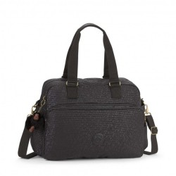 KIPLING JULY BAG BLACK SCALE EMB image here