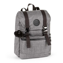 KIPLING EXPERIENCE S COTTON GREY image here