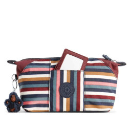 KIPLING ART POUCH MULTI STRIPES BL 5400806084092 image here