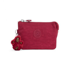 KIPLING CREATIVITY S RADIANT RED C image here