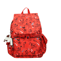 KIPLING CITY PACK SKETCHRED Red 5400852279220 image here