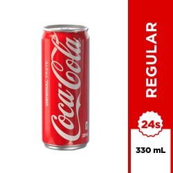 Coca-Cola Regular 330ml 24s image here