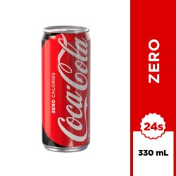 Coca-Cola Zero 330ml 24s image here