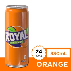Royal Tru Orange 330ml 24s image here
