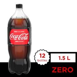 Coca-Cola Zero 1.5L 12s image here