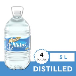 Wilkins Distilled Warer 5L 4s image here