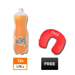 12 BOTTLES ROYAL 1.75L + FREE NECK PILLOW BUNDLE image here