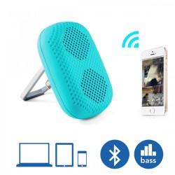 Latest Gadgets,MϋV Mini Carabiner Bluetooth Speaker,blue,LGMϋVHR908BLU-0005831 image here