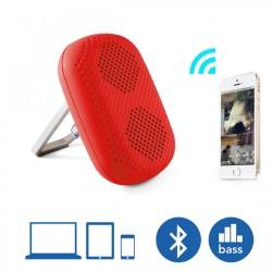 Latest Gadgets,MϋV Mini Carabiner Bluetooth Speaker,red,LGMϋVHR908RED-0005830 image here