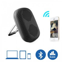 MϋV Mini Carabiner Bluetooth Speaker- Black  image here