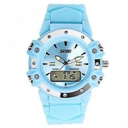 30m Waterproof Digital Wrist Watch - Light Blue image here