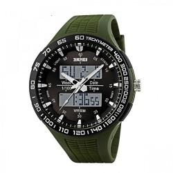 Latest Gadgets,30M Waterproof Dual Mode Watch,green,LGSKM01066GRN-0004299 image here