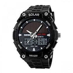 Latest Gadgets,50M Waterproof Dual Mode Watch,black,LGSKM01049BLK-0004315 image here