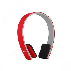 Latest Gadgets,AEC Smart Bluetooth Stereo Headphone,red,LGAECBQ618RED-0004661 image here