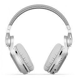 Bluedio Turbine T2 Bluetooth 4.1 Foldable Headphone Headset - White image here