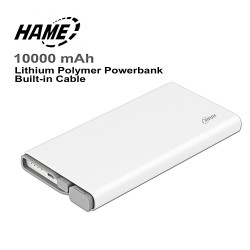 HAME QC1 10000 mah Li-Polymer Powerbank with Qualcomm Quick Charge 3.0 Port image here