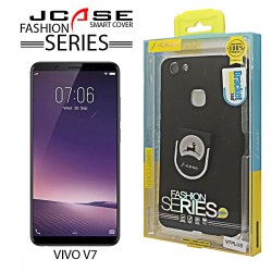 Latest Gadgets,J-case 360 Vivo V7 PLus Fashion Series Smart Cover with Ring Holder,gray,LGGEN00001GRY-0007225 image here