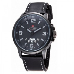 Latest Gadgets,Naviforce NF9028 30M Waterproof Analog Watch,black,LGNAVNF902XXX-0005518 image here