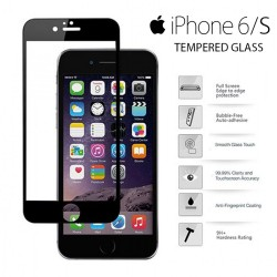 Yoobao Apple iPhone 6/S Tempered Glass Protector Screen - Black image here