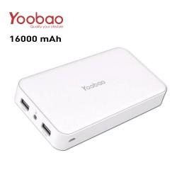 Latest Gadgets,Yoobao Dual USB Port Powerbank 16000mAh,white,LGYBO00M16WHT-0004146 image here