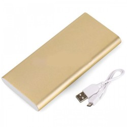 Latest Gadgets,Yoobao PL8 8000mAh DC5V 2.1A Dual Inputs Power Bank,gold,LGYBO00PL8GLD-0004824 image here