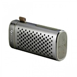 Zilla Portable Bluetooth Speaker With 4000 mAh Power Bank - Black image here