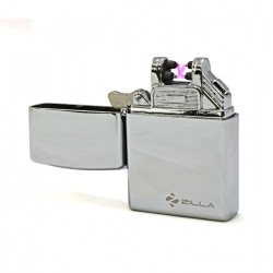 Latest Gadgets,Zilla Double Arc Electric Rechargeable USB Lighter,silver,LGZIL00001SLR-0007092 image here
