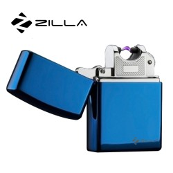 Zilla Electric Rechargeable Micro USB Lighter - Blue image here