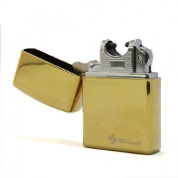 Zilla Electric Micro USB Rechargeable USB Lighter - Gold image here