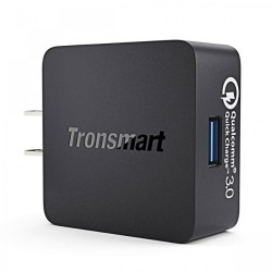 Latest Gadgets,Tronsmart WC1T 18W USB Quick Charge 3.0 Charger,black,LGXXXTSWC1BLK-0005381 image here