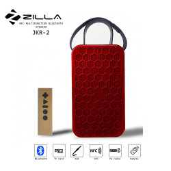 Latest Gadgets,Zilla NFC Multifunction Bluetooth Speaker With Remote Control,red,LGZIL0JKR2RED-0007395 image here