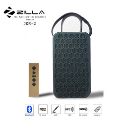 Latest Gadgets,Zilla NFC Multifunction Bluetooth Speaker With Remote Control,blue,LGZIL0JKR2BLU-0007394 image here