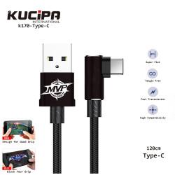 Latest Gadgets,Kucipa K170-TypeC Nylon Braided TypeC Data and Charging Line 120 cm,black,LGKUCK170TBLK-0007404 image here