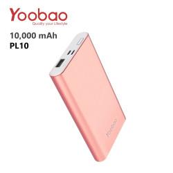 Yoobao PL10 10000 mAh Polymer Power Bank - Rose Gold image here
