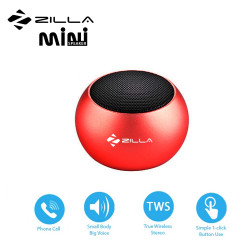 Latest Gadgets,Zilla Mini Wireless Bluetooth Speaker with Multiple Speaker Wireless Pairing Function Single,red,LGZIL0BM3DRED-0007437 image here