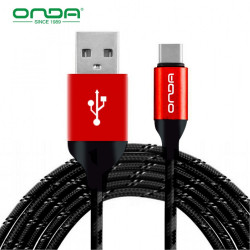 Latest Gadgets,ONDA XC15 1 Meter Type-C Cable,black,LGOND0XC15BLK-0006577 image here