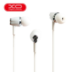 XO S26 In Ear Earphone With Microphone - White image here