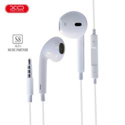 Latest Gadgets,3.5mm XO S8 High Fidelity Sound Earphones,white,LGOXO0XOS8WHT-0007719 image here