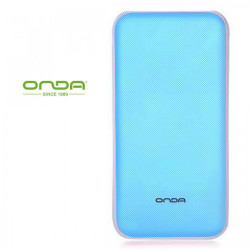 Latest Gadgets,Onda N50T 5000 mah Dual Port Powerbank with Micro USB Charging Port,blue,LGOND0N50TBLU-0005874 image here