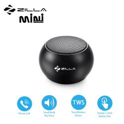 Latest Gadgets,Zilla Mini Wireless Bluetooth Speaker with Multiple Speaker Wireless Pairing Function Single,black,LGZIL0BM3DBLK-0007436 image here