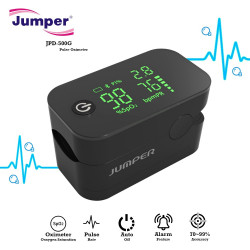 Jumper JPD-500G Pulse Oximeter With Alarm Function - Black image here