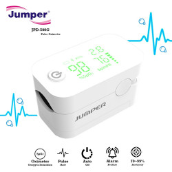 Latest Gadgets,Jumper JPD-500G Pulse Oximeter With Alarm Function,white,LGJPDJPD50WHT-0007753 image here