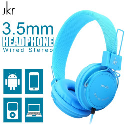 Latest Gadgets,JKR-101 3.5mm Wired Stereo Headphone,blue,LGJKRJKR10BLU-0007682 image here